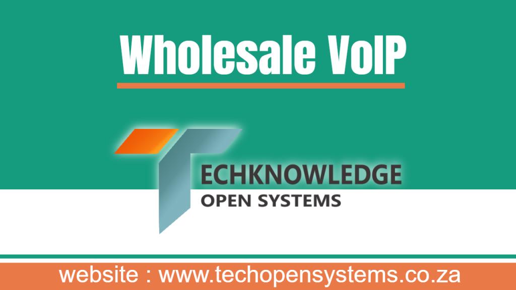 Wholesale VoIP