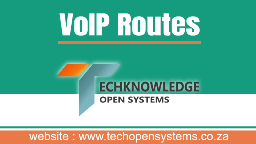 VoIP Routes